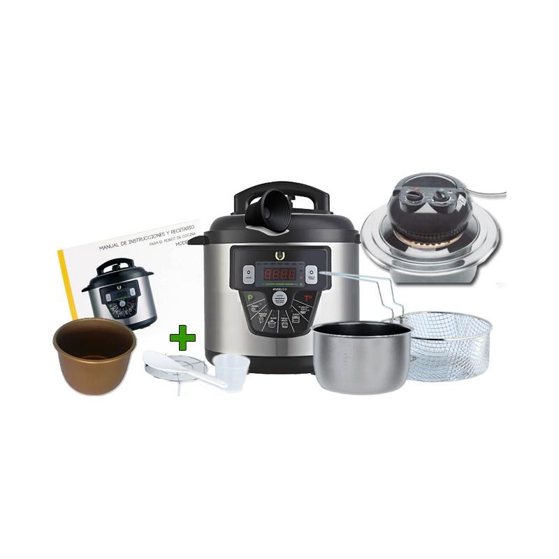 Olla cocina programable gm e 6 litros precio de f brica for Robot cocina programable