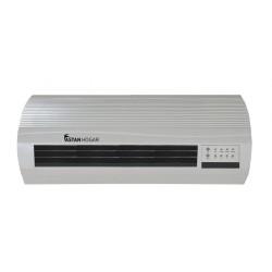 Calefactor Split / Ventilador de pared | 2000W de Potencia | Sistema de Ahorro de Energía | Kit de Montaje en Pared Incluido