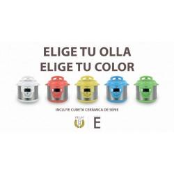ROBOT COCINA OLLA GM MODELO E COLORES 6 LT. PROGRAMABLE GUIADO POR VOZ