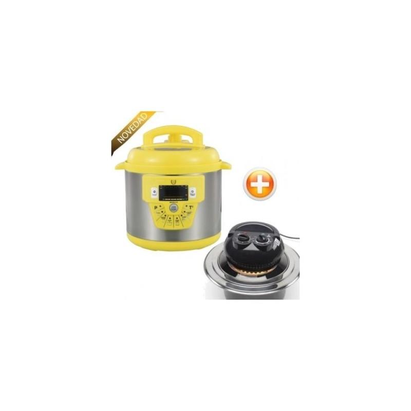 Robot cocina olla programable gm modelo e amarilla 6litro for Robot cocina programable