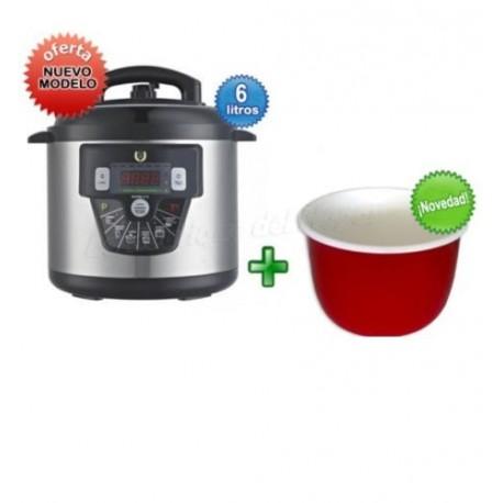Robot cocina olla programable gm modelo e 6litro con voz for Robot cocina programable