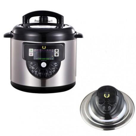 Robot cocina olla programable gm modelo f 6litro con voz for Robot cocina programable