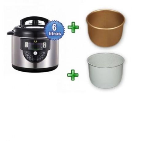 Robot cocina olla gm programable modelo f cubeta ceramica for Robot cocina programable