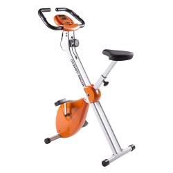 Bicicleta Estática Plegable CrossFit con Chasis Reforzado de Doble Cuerpo | Hasta 110Kg