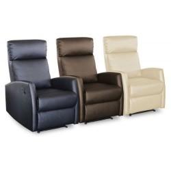 Sillón Relax Reclinable Slim 8 Motores de Masaje y Calor
