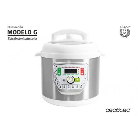 ROBOT COCINA OLLA GM PROGRAMABLE MODELO G 6 LT. COLOR