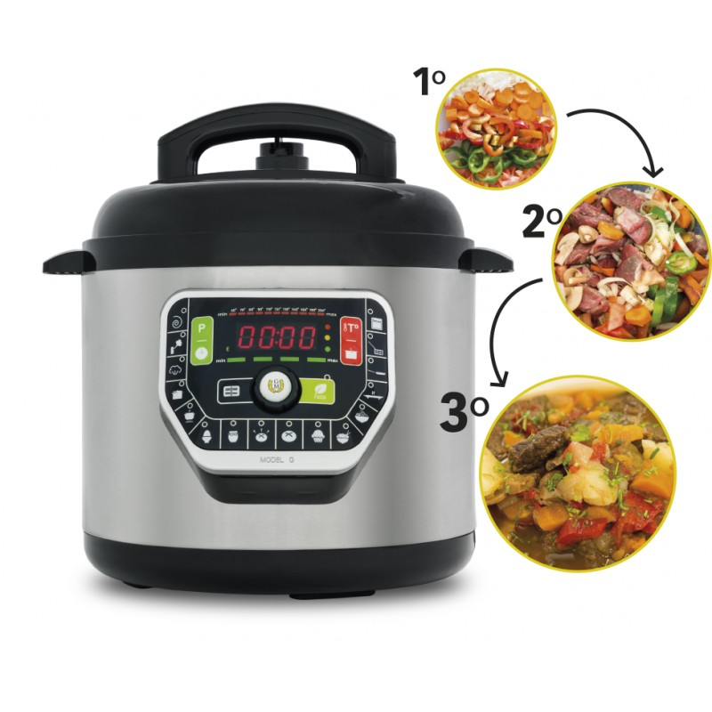 Robot cocina olla gm programable modelo g 6 lt for Robot cocina programable
