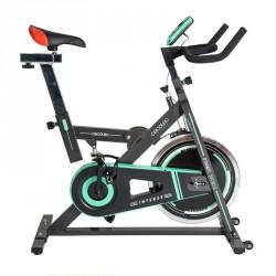 Bicicleta de SPINNING fitness microcomputadora LCD INTENSE Cecotec