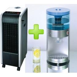 PACK DE VERANO Clima Digital, frio calor, Ionizador, Humificador, Antimosquitos + DISPENSADOR DE AGUA FRÍA
