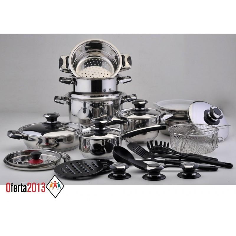 Bater a cocina solingen 30 piezas precio de f brica env o gratis - Bateria de cocina solingen 12 piezas ...